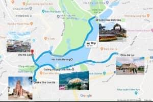 Thông tin bản đồ du lịch Đà Lạt và những kinh nghiệm hữu ích