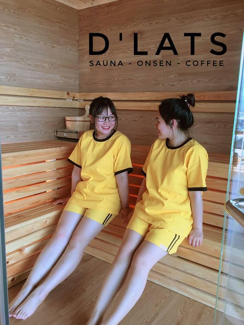 Phòng xông hơi D'Lats Sauna Đà Lạt