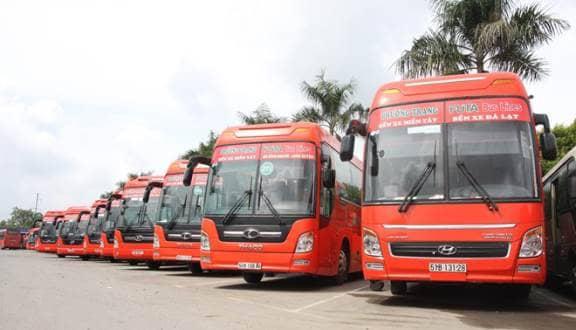 xe Phương Trang Sài Gòn đi Đà Lạt